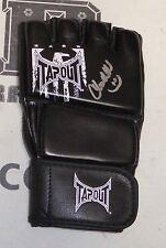Chandella Powell Signed UFC Glove PSA/DNA COA Octagon Ring Card Girl Autograph