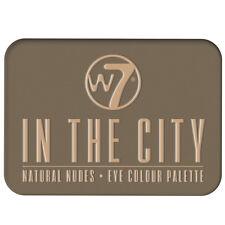 W7 CosmeticsLidschattenPaletteNacktNudeNaturfarben-In The City
