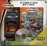 Matchbox Hero City 5 Cars & DVD Gift Pack Mattel 2004 Episode 2 Haunted House