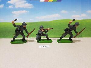 Britains Deetail WW2 German Infantry 3 (lot 3334)