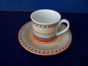 Villeroy & Boch Gallo Switch 4 Nazare > Kaffeetasse mit Unterteller < 2 - teilig