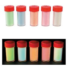 Glow in the Dark Sand Assortment (5 Colors) 1 1/2oz Each