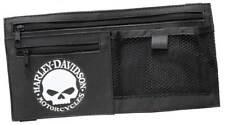 Harley-Davidson Willie G Skull Car Visor Organizer Adjustable Closure Black 6198