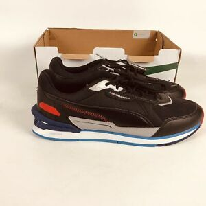 Puma BMW Mms Low Racer Sports Shoes Mens Size 9 Black 306805-01