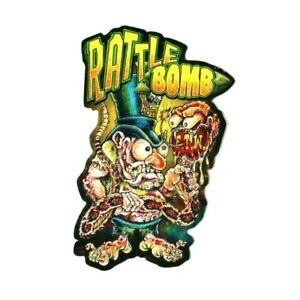Lil Daddy Roth Metal Flake Rattle Bomb Lowbrow Hot Rod Chopper Kustom Kulture