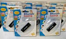2.0 Bluetooth USB Dongle (LOT OF 10!) Class 1 / 100M - Black / 10 pack