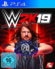 PS4 Game Wwe 2K19 World Wide Wrestling 2019 Express Shipping New