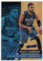 2016-17 Panini Aficionado Magic Numbers #3 Karl-Anthony Towns Timberwolves