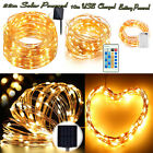 20-200 LED Copper Wire Fairy String Lights Christmas Tree Xmas Party Waterproof