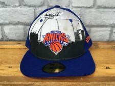 NEW ERA 59 FIFTY di New York Knicks NBA BASKETBALL Blue Cap Sports