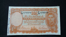 COMMONWEALTH of AUSTRALIA 1939 TEN SHILLINGS VF+++ CONDITION  (SEE PICTURES)