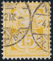SCHWEIZ 1882, MiNr. 49, sauber gestempelt, Befund Renggli, Mi. 300,-