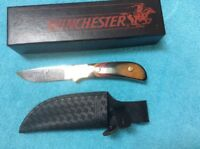 Winchester USA Knives Fixed Blade Hunting Heritage 670 Knife Rare 1990