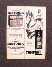 [GCG] M762 - Advertising Pubblicità - 1962 - CORDIAL CAMPARI
