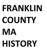 23 Books Franklin County, MA Massachusetts History Genealogy on CD