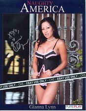 GIANNA LYNN VERY SEXY!! SIGNED COLOR 8x10 PROMO PHOTO