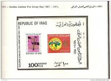 Iraq 1971 1972 MNH sets & sheet