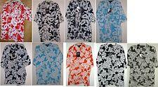 NWT FLORAL ALOHA PRINT HAWAIIAN SHIRT by SOLID CLOTHING CO  2 PRINTS 6 COLORS