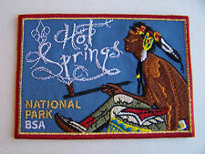 Boy Scouts of America (BSA) HOT SPRINGS National Park Series PATCH