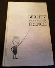 FREE SHIP Charles F. Berlitz THE BERLITZ SELF-TEACHER :  French 1st Edition? HB