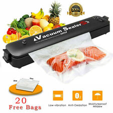 Vacuum Food Sealer 3In1 Automatic Manual Vacum Sealer Dry Wet Pack Machine UK