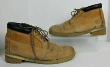 """TIMBERLAND Classic Work Boots 15W Tan Waterproof 6"""" #10061 Leather Lace Up GUC"""