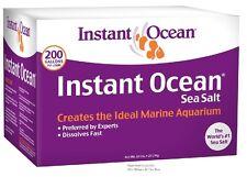 Sea Salt Mix Instant Ocean Aquarium Fish Tank Tropical Marine Water 200 Gal