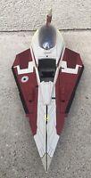 2008 LFL Hasbro Star Wars The Clone Wars Obi-Wan's Jedi Starfighter - Incomplete