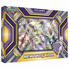 *Damaged Box* Pokemon XY Mewtwo EX Collection Box: Booster Packs + Promo Cards