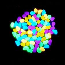 Fish Aquarium Decors Multi-Colors Magic Beautiful Luminous Glow in Dark Stones