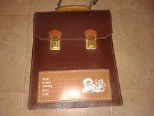 "Amazing vintage  80's Greek ""Dimokritos""  school bag!! New"