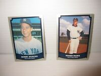 1988 1989 Pacific Baseball Legends Yankees Murcer #196, Maris #89