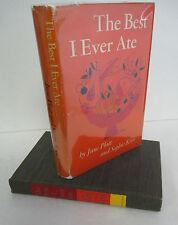 THE BEST I EVER ATE by June Platt & Sophie Kerr, 1953 1st Ed in DJ