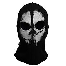 Call of Duty 10 COD Ghost Balaclava Logan Skull Face Mask Hood Biker #9