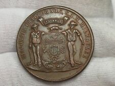 Masonic One Penny Token - Milwaukee WI R.A.M. #7 Est. 1852.  #43