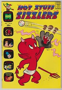 Hot Stuff Sizzlers #39  Beautiful Harvey Giant  File Copy Comic!  1969 NM-
