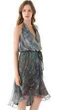 Haute Hippie Cascade Print Halter Dress without Belt   $625.00 Size S Cocktail