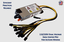 Dual Voltage High Efficiency Power Supply For Antminer E3 / L3+ / Z9 mini / X3