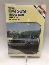 Clymer A151 Datsun 1200 & B210 1971-1978 shop repair manual Rare Sealed New VTG