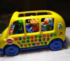 Leap Frog Fun and Learn Phonics Bus Alphabet Electronic Learning Toy