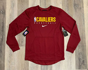 Nike Cleveland Cavaliers Showtime Crewneck Sweatshirt Men's 2XL PLAYER ISSUED