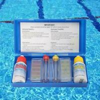PH Chlorine Water Quality Test Kit Hydrotool Testing BEST Pool For Swimming H7V1