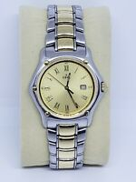 Ebel 1911 model 187902 18k Yellow Gold & Stainless Steel Date Mens Watch