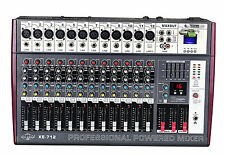 2200 Watts Peak Output 12 Channel Professional Powered Mixer XE-712