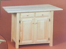 Handmade Kitchen Islands Carts For Sale EBay - Amish kitchen island