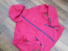 GIRLS QUECHUA OXYLANE VIRTUAL PINK HOODED JACKET AGE 12