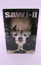 Saw 1 + 2  Limited Steel Edition (2007) 3er Steelbox DVD