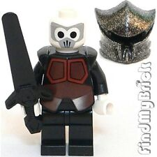 M356 Lego Avatar Nickelodeon Firebender Minifigure w/ Speckle-Silver Helmet NEW