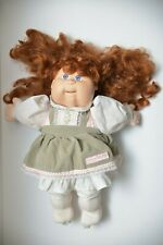 1987 VTG Cabbage Patch Kids TALKING DOLL Redhead Girl - Works sometimes