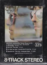 GEORGE HARRISON Thirty Three & 1/3 Still-Sealed 8-track tape 1976 Beatles